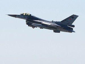 Suriye radarları Türk F-16lara kilitlendi