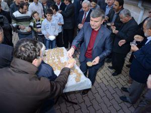 Başkan Akyürek aşure ikramında bulundu