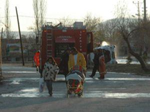 Alkollü sürücü LPG yüklü tırla kaza yaptı!