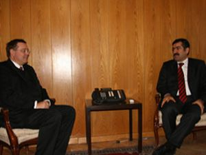 Almanya Büyükelçisi, Vali DOĞAN ı ziyaret etti
