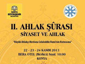 Ahlak Şurası 22 Kasımda Konyada toplanacak