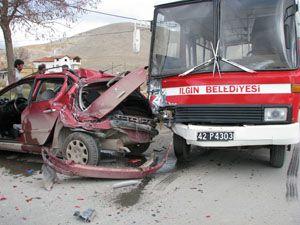 Trafik kazasında 1 üniversite öğrencisi hayatını kaybetti