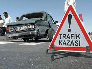 Yolun karşısına geçmek isterken araç çarptı