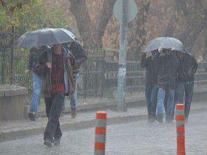 İki il için kuvvetli yağış uyarısı!