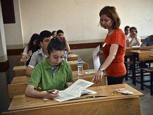 Merkezi ortak sınavların ilk oturumu yarın yapılacak