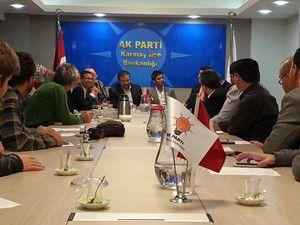 Karatayın Ak Parti Aday Adayları toplandı