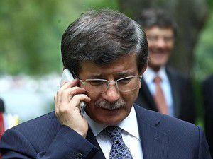 Bakan Davutoğlu Ashton ile telefonla görüştü