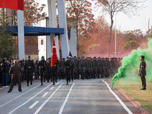 Jandarmada yemin töreni coşkusu