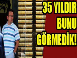 Altın fiyatları son 35 yılın...