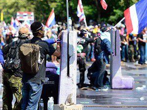 Taylandda yönetim karşıtı gösteriler sürüyor