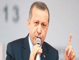 Erdoğan Zaman gazetesine sert çıktı