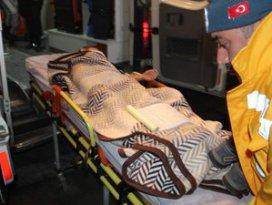 Sobadan zehirlenen aile hastaneye kaldırıldı