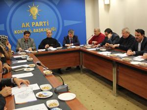 AK Parti il koordinasyon toplantısı yapıldı