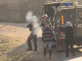 İsrailli askerler Filistinli kızı vurdu