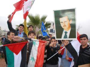 Filistin Konvoyu Suriye'ye geçti