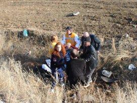Cenaze dönüşü trafik kazası: 5 yaralı