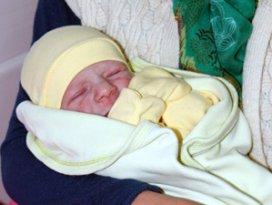 Konyada yeni yılın ilk bebeği Nuh