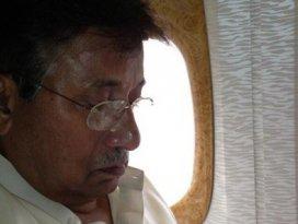 Pervez Müşerref hastaneye kaldırıldı
