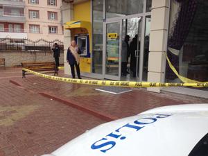 Konyada PTT şubesinde bıçaklı soygun