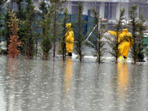 Konyada yağmur hayatı olumsuz etkiledi