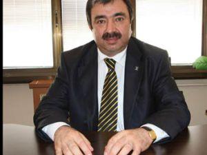 Mustafa Çevik Basın toplantısı yapıyor