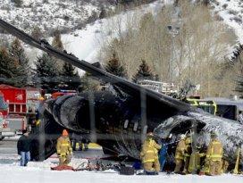 ABDde 22 kişilik uçak düştü
