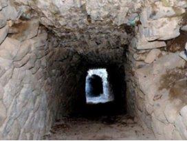 Kral kızlarının gizli hamam tüneli bulundu