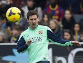 Messi sahalara dönüyor