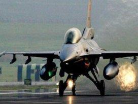 Türk F16ları Suriyeye şans tanımadı