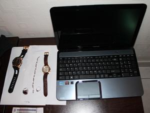 Çaldıkları laptopu gömen hırsızlar yakalandı