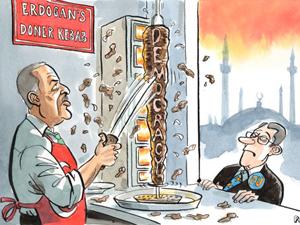 The Economistten skandal karikatür!