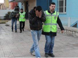 Konya'da hırsızlık şüphelisi 3 kişi yakalandı