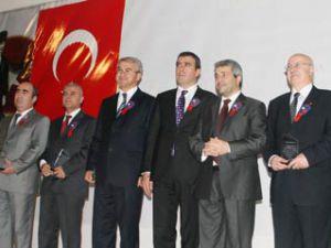 Bakan Ergün Konyanın yüz aklarını ödüllendirdi