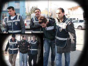 Maskeli banka soyguncuları tutuklandı
