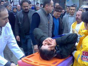 Öğrenci ağır yaralandı