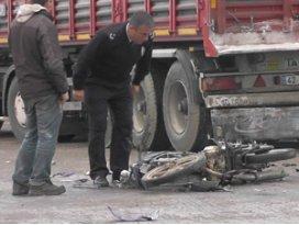 Konyada trafik kazası 1 ölü