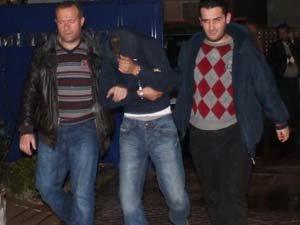 Demir çalan hırsızlar yakalandı