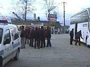 Konya otobüsünde 200 bin dolarlık hırsızlık