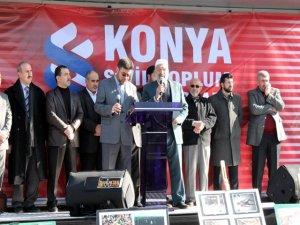 Konyadan Suriyedeki katliama tepki