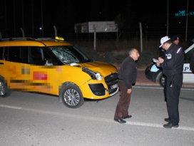 Konyada trafik kazası 1 ağır yaralı