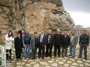 Hitit anıtı, kültür komisyonu tarafından inceledi