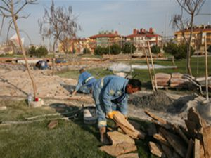 Selçuklu, şehre yeni parklar kazandırmaya devam ediyor