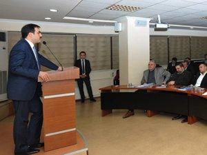 KTO Ocak ayı meclis toplantısı yapıldı