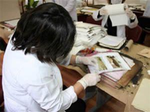 Konya nın tarihine ışık tutan belgeler onarılıyor