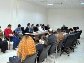 Meramda personele Etik kuralları konulu seminer