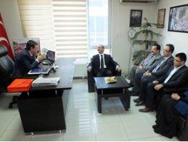 AK Parti İl Teşkilatından MHP,CHP ve SPye ziyaret