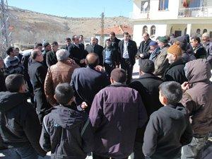 Başkan Altay, köy ziyaretlerini sürdürüyor