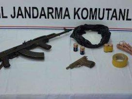 PKKya ait mühimmat ele geçirildi