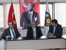 Milletvekili Üzülmez ve Başkan Altaydan Konesoba ziyaret