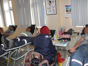 Konya Şeker Ailesinden kan bağışı kampanyası